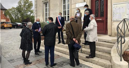 Visite du Préfet de la Marne class=